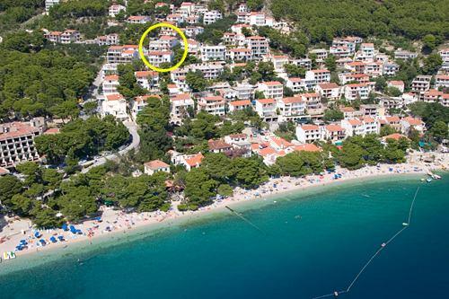Apartments Kate Brela Makarska Riviera Dalmatia